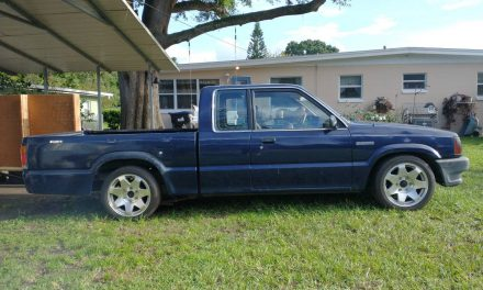 Long Bed Project: 1990 Mazda B2200 – SOLD!