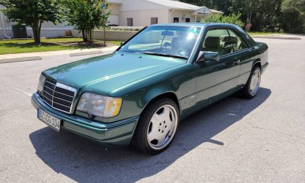 Rare Sportline: 1994 Mercedes Benz E320 – SOLD!