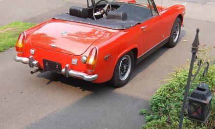 Canceled Crawling: 1970 MG Midget MkIII- SOLD!