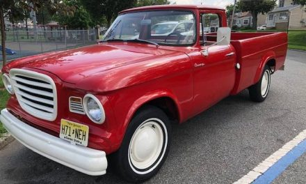 Real Red: 1963 Studebaker Champ Pickup – Sold?