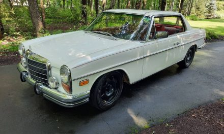 Stillborn Swap: 1976 Mercedes-Benz W114 280C – Sold?