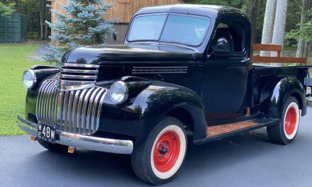 Unused Utility: 1941 Chevrolet Hot Rod Pickup – Sold?