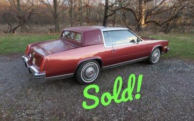1984 Cadillac Eldorado Biarritz – SOLD For $4,500!