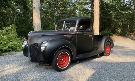 Pinstriped Pickup: 1940 Ford 01C Hot Rod – Sold?