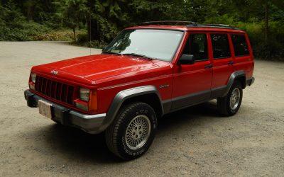 BaT Turn-Away: 1994 Jeep Cherokee Country