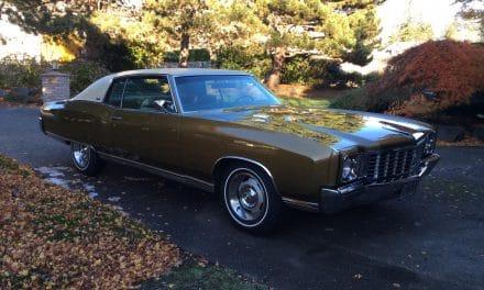 1972 Chevrolet Monte Carlo – Waiting Until Spring
