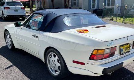 Manual Drop Top: 1990 Porsche 944S2 Cabriolet – $16,500