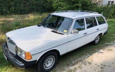 Low Mileage Turbo Diesel: 1985 Mercedes 300 TD Wagon – $10,000