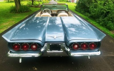 Tired Top: 1960 Ford Thunderbird Convertible – $16,500
