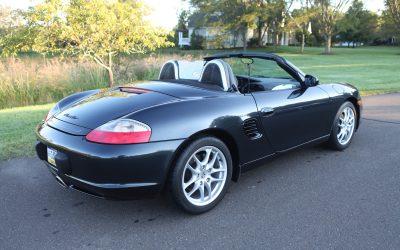 50K Miles: 2004 Porsche Boxster Base