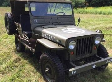 Fun Farmer: 1949 Willys-Overland Jeep CJ3A – SOLD!