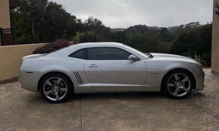 11K Miles: 2010 Camaro SS/RS Hennessey HPE550