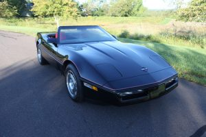 12K Miles: 1987 Corvette 4+3 Convertible