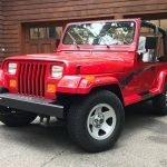 Original Owner: 1994 Jeep Wrangler YJ Splash Edition 24K – $29,950