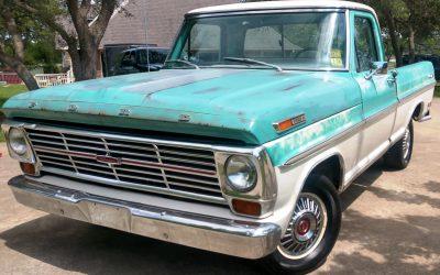 BaT Turn-Away: 1969 Ford F100 Ranger Short Bed