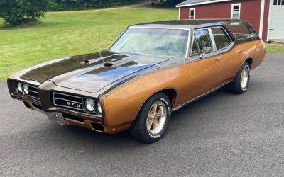 Grocery Goat: 1969 Pontiac LeMans Custom S Wagon – $34,500