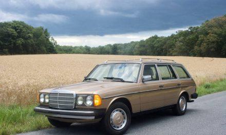 Diehard Diesel: 1983 Mercedes-Benz W123 300TD – NOW $16,500