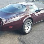 Burgundy Beauty: 1980 Chevrolet Corvette 4-Speed -$18,000