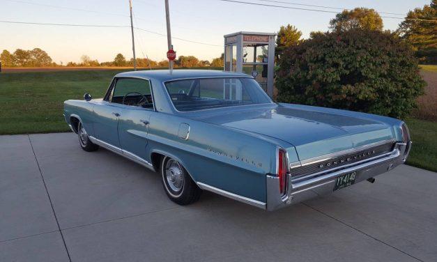 1964 Pontiac Bonneville Four Door Hardtop 61K Survivor – SOLD!