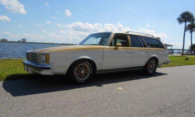 Tribute Transport: 1980 Oldsmobile Cutlass Hurst/Olds Wagon – $16,500