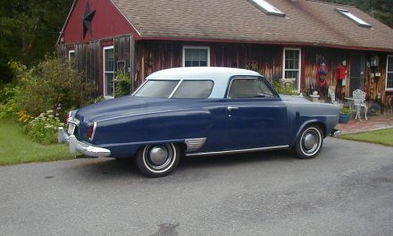 Coming or Going: 1950 Studebaker Champion Starlight coupe – SOLD!