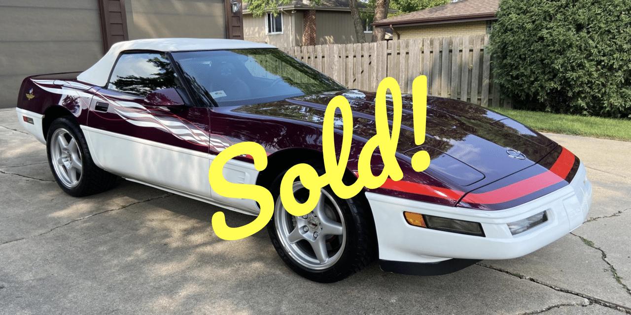 1995 Chevrolet Corvette Pace Car – Sold For $20,586