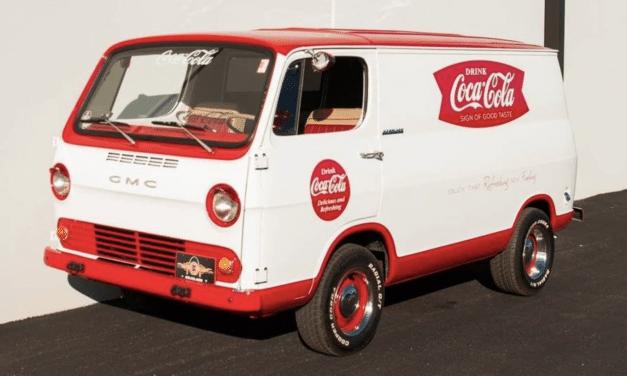 Coca-Cola Classic: 1965 GMC Handi-Van – STILL $18,000