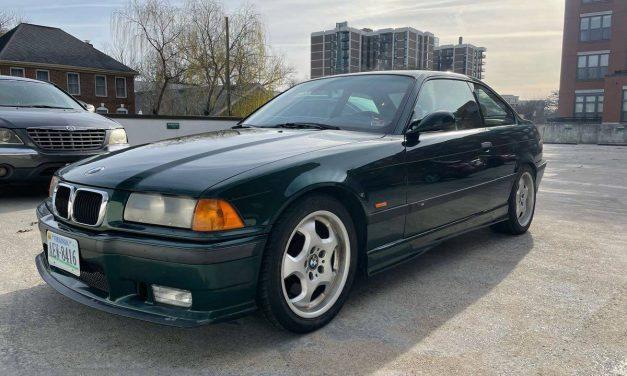 Fern Green E36: 1999 BMW M3 – $16,500