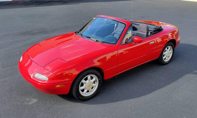 Pristine High Miler: 1990 Mazda MX-5 Miata – $7,500