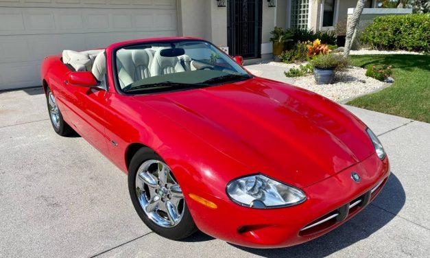 Relocation Forces Sale: 1999 Jaguar XK8 – $14,999