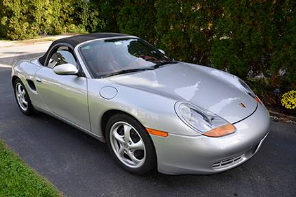 Low Mileage Early Model: 1998 Porsche Boxster – $14,500