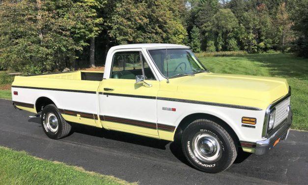 Concours Cheyenne: 1972 Chevrolet C10 Big Block – $29,900