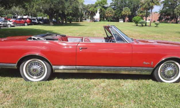 Red Rocket: 1965 Oldsmobile Starfire Convertible – $28,000