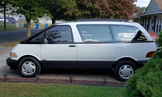 Midengine Mover: 1994 Toyota Previa All-Trac – $4,500