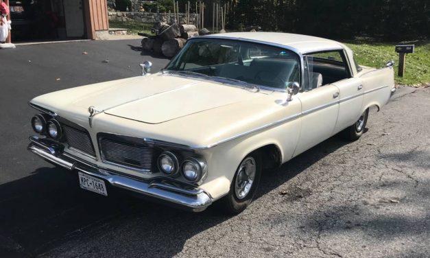 Stately Survivor: 1962 Imperial Crown Four Door Hardtop – $9,500