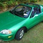 Sensible Sportiness: 1993 Honda Civic Del Sol 45K Survivor – $11,750