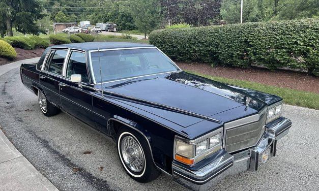 1984 Cadillac Fleetwood Brougham – SOLD!