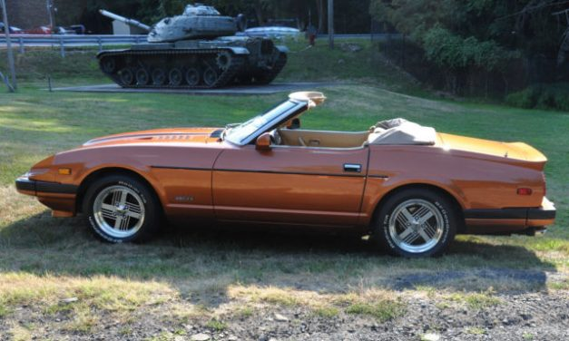 Convertible Conversion: 1982 Datsun S130 280ZX 5-Speed – $14,000
