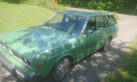 Vague Violet: 1979 Datsun 510 Wagon 17K Mile Survivor – $7,500