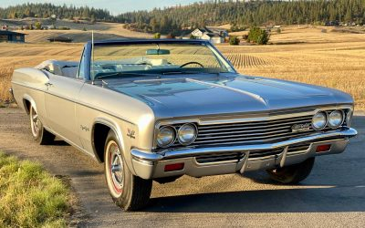 Perfect Pictures: 1966 Chevrolet Impala SS396 Convertible – $52,500