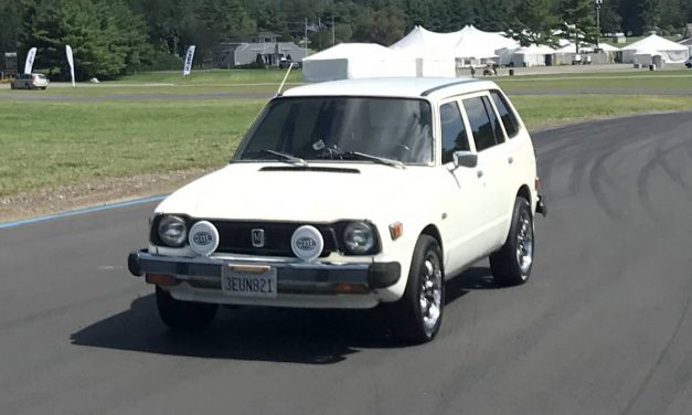 Roof Rust: 1979 Honda Civic CVCC Wagon – $7,000