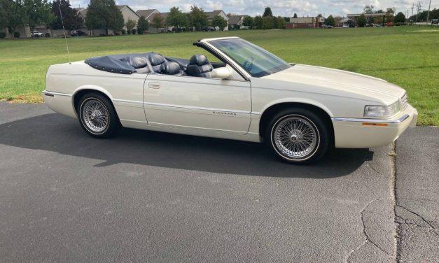 Coachbuilders Custom: 1995 Cadillac Eldorado Convertible – $15,000