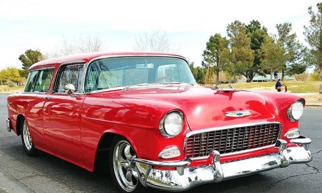 Small Block Stroker: 1955 Chevrolet Nomad Street Machine – $85,000