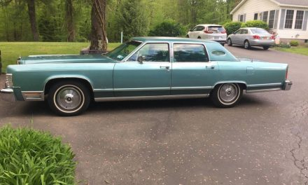 1979 Lincoln Continental 18.5K Mile – $19,500