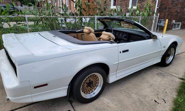Rare Ragtop: 1987 Pontiac Trans Am GT Convertible – $18,000